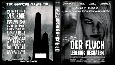 KKR018 - Der Fluch - Lebendig Begraben Blu Ray FAN EDITION