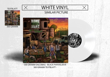 Home Reared Meat - Redneck Rumble Vinyl Weiß